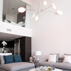 contemporary living room by Escala Construction Inc.