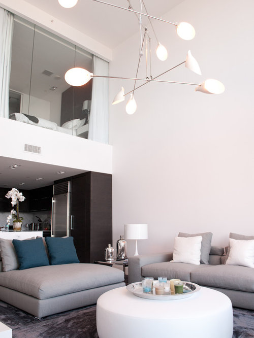 Loft Living Room Decorating Ideas: Loft Curtains Home Design Ideas, Pictures, Remodel And Decor