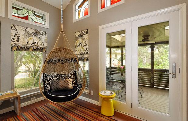 Eklektisch Wohnbereich by Turnstyle Design