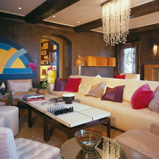Contemporary Living Room by Gordon Gibson Construction