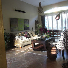 Eclectic Living Room Living