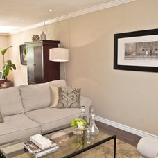 Traditional Living Room by At Home Interior Design