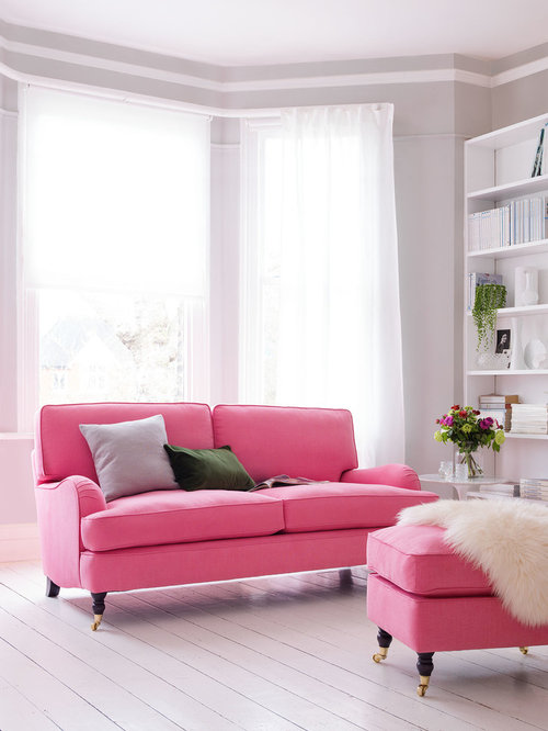25 Best Traditional Pink Living Room Design Ideas, Pictures ...