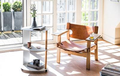 Tips: Flytta ut möblerna från väggen för en levande inredning
