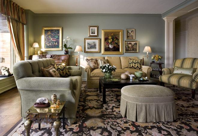 Living Room by Lauren Ostrow Interior Design, Inc