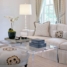 Traditional Living Room by Design House