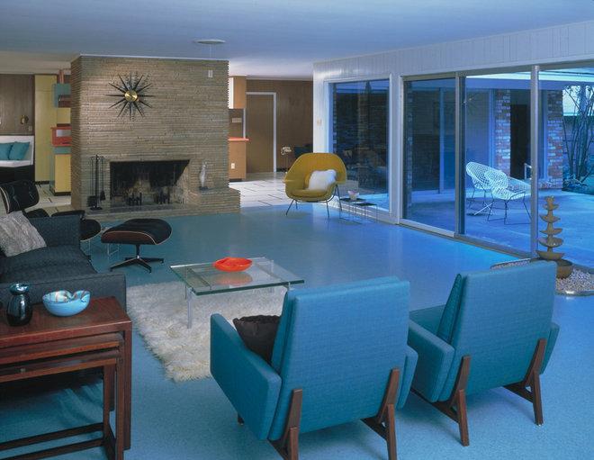 Modern Living Room by Wilsonart