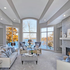 Traditional Living Room by 360-Vip Photography