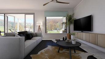 Living Room 3D Interior Design