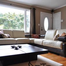 Contemporary Living Room by Afkadesigns Ltd.