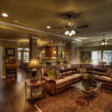 Traditional Living Room by Curb Appeal Renovations
