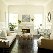 Contemporary Living Room by Alexandra Rae Design