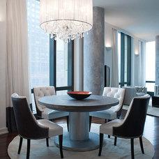 Contemporary Living Room by Aline Matsika