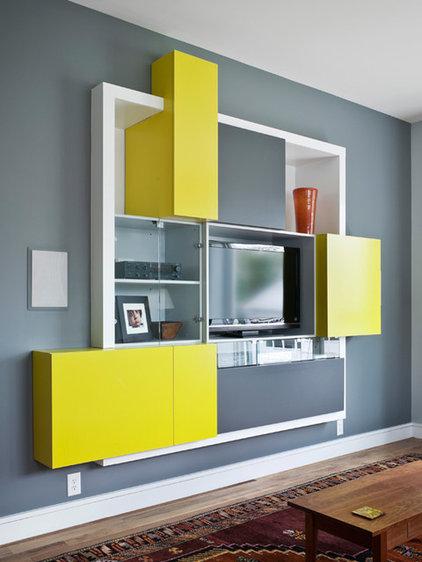 Modern Living Room by Alloy Workshop