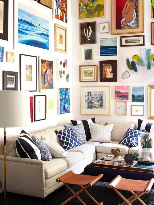 Modern Living Room Art | Houzz