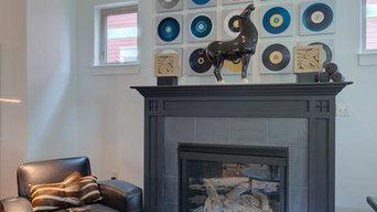 Living Room & Bedroom Design