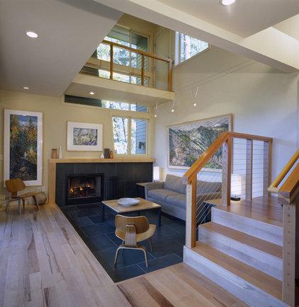 Modern Living Room by FIVE Design