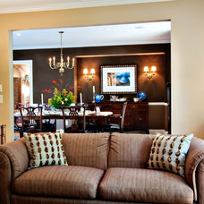 Traditional Living Room by Leland Interiors, LLC