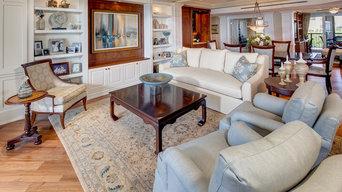 Living Room & Dinning Room Custom Built-Ins