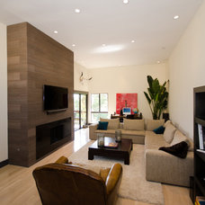 Contemporary Living Room by Stonebrook Design Build