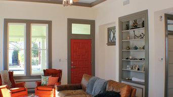 Living Room & Front Door