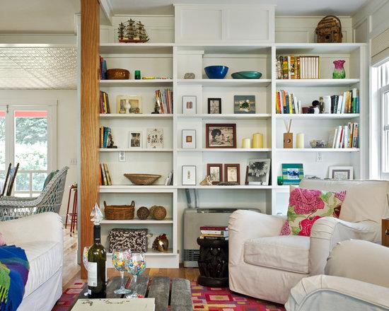 bookshelf decoration | houzz