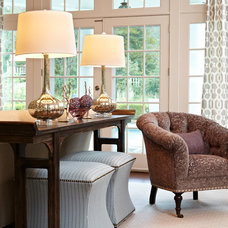 traditional living room by Centsible Designs, LLC