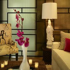 Contemporary Living Room by Andrea Schumacher Interiors