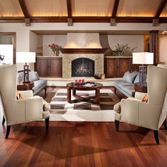 contemporary living room by Aneka Interiors Inc.