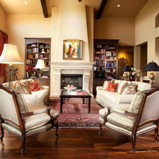 Traditional Living Room by Aneka Interiors Inc.
