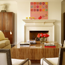 Contemporary Living Room by Martha Angus Inc.