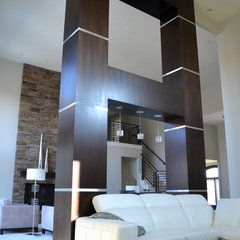 contemporary living room by Anthony Company Builders LLC