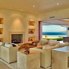 Contemporary Living Room by Architectural Design & Construction