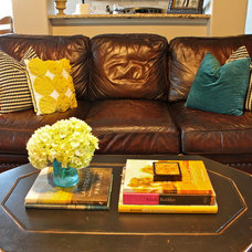 Eclectic Living Room by I like it, I love it!