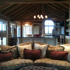Living Room by Rhonda Kieson Designs