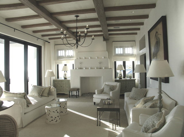 Mediterranean Living Room by ROMA   Eco-Sustainable Building Technologies