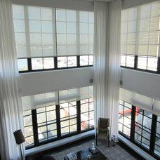 Modern Living Room by NY Window Fashion Inc.