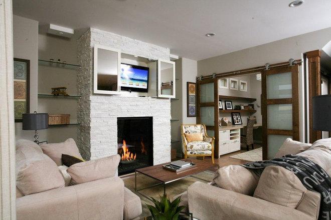 Modern Living Room by Avonlea Homes