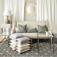 Contemporary Living Room by Ballard Designs