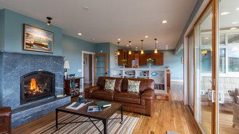 Living Room - beautiful, warm, functional