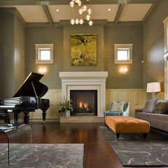 contemporary living room by Begrand Fast Design Inc.
