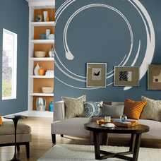 Modern Living Room by BEHR®