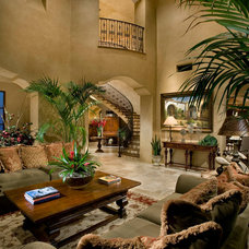Mediterranean Living Room by Beringer Fine Homes