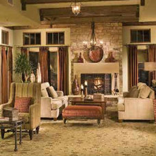Traditional Living Room by Bethany Lewis, R.I.D.