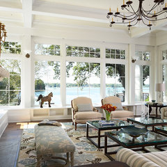 traditional living room by Billy Beson Company
