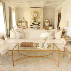 Traditional Living Room by Bliss Design Firm