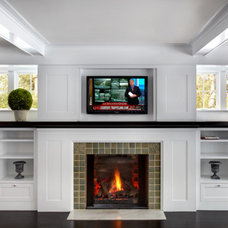 Traditional Living Room by DiGiacomo Homes & Renovation