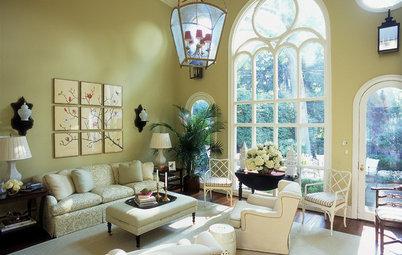 陶器製ガーデンスツールをとりいれた17の美しい空間