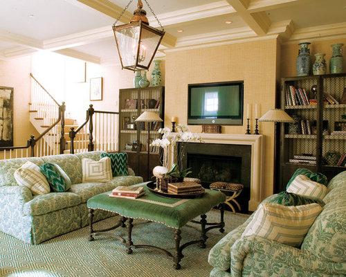 Den furniture arrangement home design ideas pictures - App for arranging furniture in a room ...