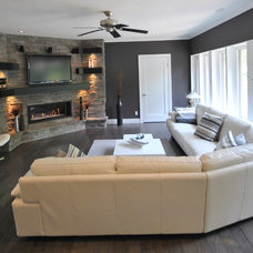 Contemporary Living Room by Bricon Contracting